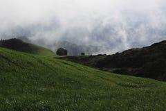 Sandakphu-Wanderung lizenzfreies stockbild