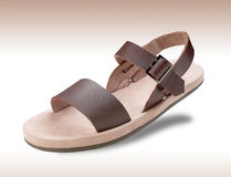 Sandal. Beach sandal isolated on background Royalty Free Stock Photography