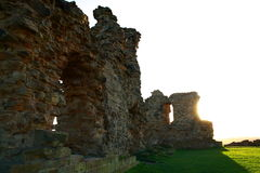 Sandal castle in Wakefield Royalty Free Stock Photo