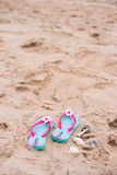Sandal sand Royalty Free Stock Photo