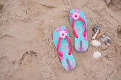 Sandal sand Royalty Free Stock Photos