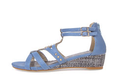 Sandal shoe for woman Royalty Free Stock Images
