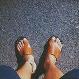 Sandaler arkivfoton