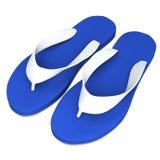 Sandaler som isoleras på vit Royaltyfri Fotografi