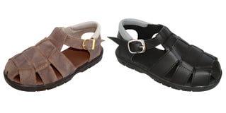 Sandales d'enfants Image libre de droits