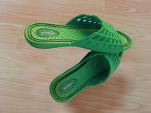 Sandales de dames ou chappal pour le port occasionnel à la maison photographie stock