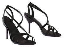 Sandales de talon haut Photo libre de droits
