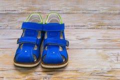 Sandales orthopédiques Photos libres de droits