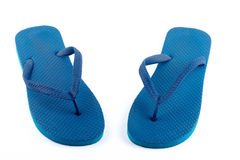 Sandali blu Immagine Stock