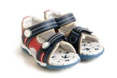 Sandali del bambino Immagini Stock