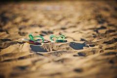 Sandali della spiaggia Immagini Stock