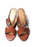 Sandali delle donne fotografia stock libera da diritti
