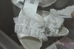 Sandali delle donne Immagini Stock