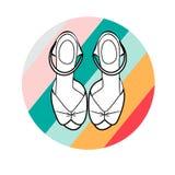 Sandali delle donne Immagini Stock Libere da Diritti