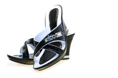 Sandali delle donne Fotografie Stock