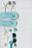 Sandali di estate Fotografie Stock