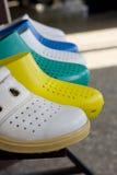 Sandali di gomma Immagini Stock