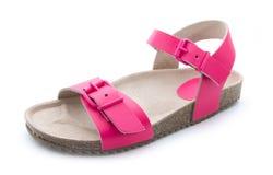 Sandalia rosada Imágenes de archivo libres de regalías