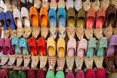 Sandalias árabes Foto de archivo