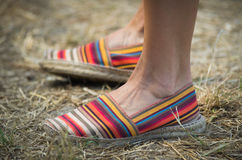 Sandalias imagenes de archivo