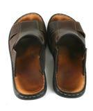 Sandalias de cuero 2 Foto de archivo libre de regalías