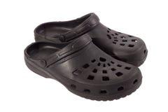 Sandalias de goma Foto de archivo libre de regalías