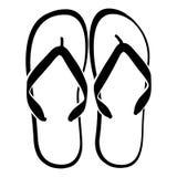 Sandalias de la playa Libre Illustration