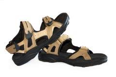 Sandalias del verano Imagen de archivo libre de regalías