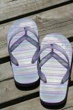 Sandalias del verano Fotografía de archivo libre de regalías