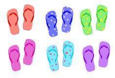 Sandalias del verano Imágenes de archivo libres de regalías