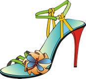 Sandalo colorato italiano Fotografia Stock Libera da Diritti