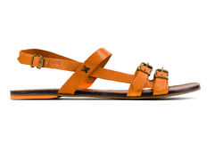 Sandalo delle donne Fotografie Stock Libere da Diritti