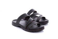 Sandalo di cuoio Fotografie Stock