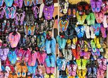 Sandalo e pantofola fotografia stock libera da diritti