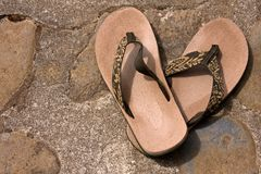 sandals Royaltyfri Bild