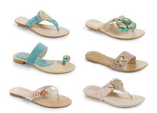 Sandals Stock Image