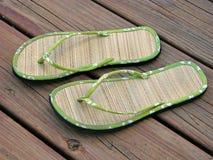 sandals Arkivbild