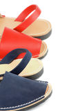 Sandals Avarcas Stock Photography