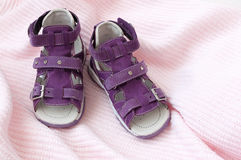 sandals för barn s Arkivfoto