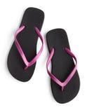 sandals in för misslyckandear för bakgrundsstrandflip isolerade ställde illustrationen vektorn vit vektor illustrationer