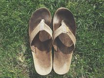 Sandals Stock Image
