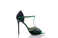 Sandals met druk en het weven royalty-vrije stock foto's