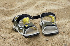 Free Sandals On Beach Royalty Free Stock Images - 10831479
