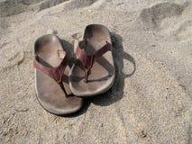 Free Sandals On Beach Stock Photos - 12875753
