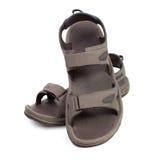 Sandals on white Stock Photos