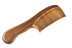 Sandalwood comb Stock Photography