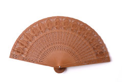 Sandalwood fan Stock Image
