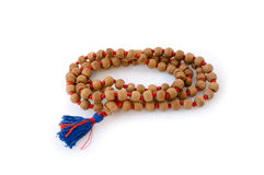 Sandalwood Mala Royalty Free Stock Photo