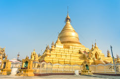 Sandamuni Pagoda - Mandalay Burma Myanmar Royalty Free Stock Photo