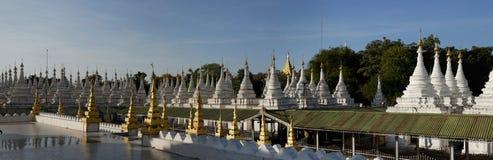 Sandamuni Pagoda, Mandalay, Myanmar Stock Photo